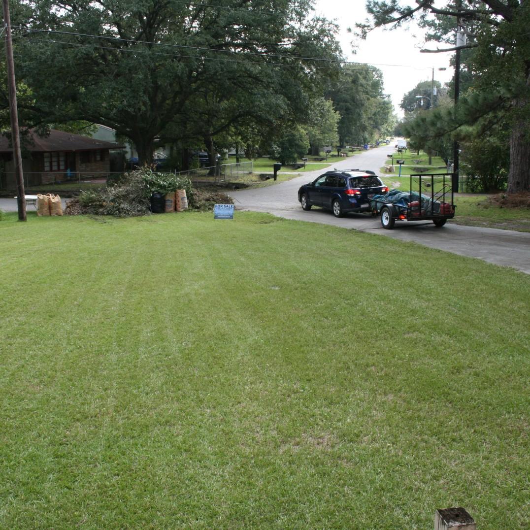 Large lawn!